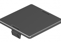 7407580 - OBO BETTERMANN Заглушка для круглого отверстия Ø45 мм (полиамид,черный) (LP R).