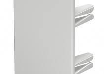 6183824 - OBO BETTERMANN Торцевая заглушка кабельного канала WDK 60x110 мм (ПВХ,светло-серый) (WDK HE60110LGR).