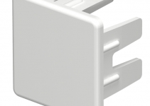 6158730 - OBO BETTERMANN Торцевая заглушка кабельного канала WDK 25x25 мм (ПВХ,серый) (WDK HE25025GR).