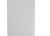 6183867 - OBO BETTERMANN Торцевая заглушка кабельного канала WDK 60x210 мм (ПВХ,светло-серый) (WDK HE60210LGR).