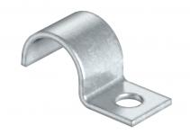 1009117 - OBO BETTERMANN Крепежная скоба (клипса) металл. однолапковая 13мм (1015 13 G).