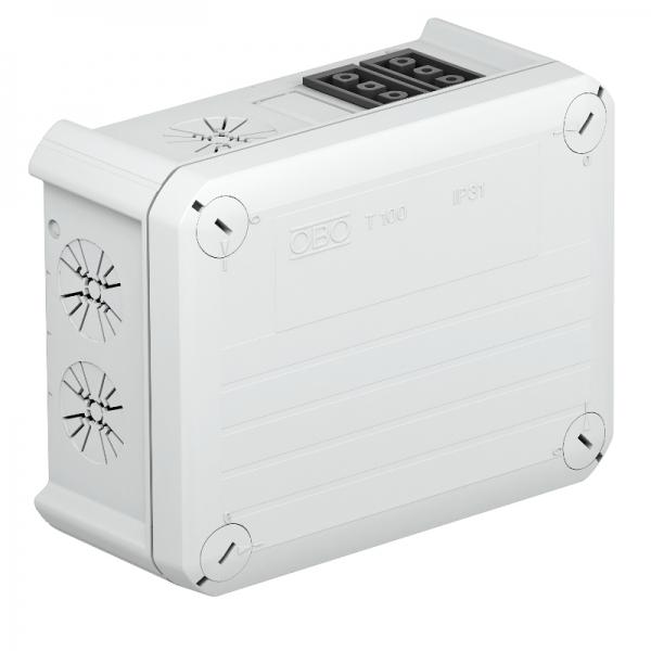 2007817 - OBO BETTERMANN Распределительная коробка 150x116x67 (T 100 WB 1W3 2S3).