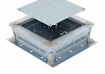 7410043 - OBO BETTERMANN Монтажное основание UZD250-3 (h=115-170 мм) 410x367x115 мм (сталь) (UZD 115170 250-3).