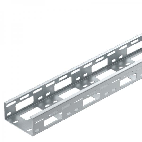 6075024 - OBO BETTERMANN Усиленный кабельный лоток для монтажа светильников 50x100x6000 (LTS 100 FS).