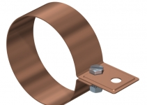 5350719 - OBO BETTERMANN Хомут ленточный для крепления к водосточной трубе  * (301 CU-110).