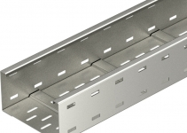 6098161 - OBO BETTERMANN Кабельный листовой лоток для больших расстояний 110x200x6000 (WKSG 120 VA 4301).