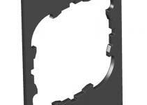 7408236 - OBO BETTERMANN Крышка для напольного бокса Telitank на 1 устройство EK 55x77 мм (ПВХ,черный) (T4B P1S 9011).