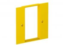 6109836 - OBO BETTERMANN Накладка блока питания VH для монтажа устройств, 95x95 мм (желтый) (VH-P5).