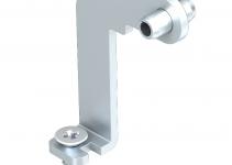 7407860 - OBO BETTERMANN Крепежный уголок для гибкого канала в лючках GES 5 мм (сталь) (FKH GES5).