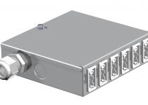 6108005 - OBO BETTERMANN Распределитель энергии UVS (сталь) (UVS-6W2).