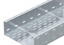 6098127 - OBO BETTERMANN Кабельный листовой лоток для больших расстояний 110x600x6000 (WKSG 160 FS).