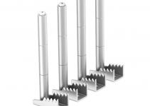 7404584 - OBO BETTERMANN Крепежный угол для лючков GES в полу высотой до 85 мм (сталь,1 шт.) (BW4 85).