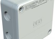 2001802 - OBO BETTERMANN Распределительная коробка 110x110x50 (B 9 T 5).