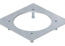 7400545 - OBO BETTERMANN Крышка усиленная монтажного основания UZD350-3R7 (h=130-170 мм,сталь) (DUG 350-3R7SL130).