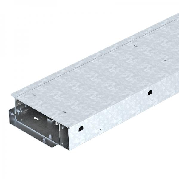 7403818 - OBO BETTERMANN Открываемый кабельный канал OKB с крышкой 2000x250x93 мм (сталь) (OKB U 25085 BD).