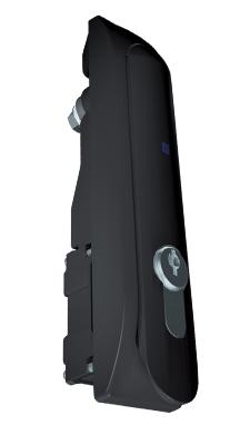 DP-ZM-E2 - Электронный дверной замок с профильным полуцилиндром и встроенный картридер (EM&HID Prox формат 125kHz), кабель на 4.5 м в комплекте