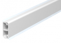 6199103 - OBO BETTERMANN Плинтусный кабельный канал SKL 50x20x2000 мм (ПВХ,белый) (SKL-50DRW).