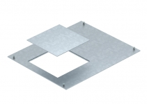 7425064 - OBO BETTERMANN Крышка канала OKA с монтажным отверстием GES4 400x500x4 мм (сталь) (OKA D 500 4).