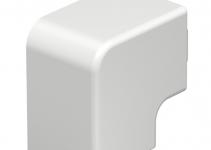 6192831 - OBO BETTERMANN Крышка плоского угла кабельного канала WDK 40x40 мм (ПВХ,белый) (WDK HF40040RW).
