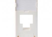 FP2MF1K - Лицевая панель под модуль RJ-45 Volition®, 1-порт, 22,5х45, белая