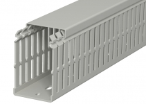 6178424 - OBO BETTERMANN Распределительный кабельный канал LKV N 75x50x2000 мм (ПВХ,серый) (LKV N 75050).