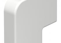 6154220 - OBO BETTERMANN Крышка плоского угла кабельного канала WDK 10x30 мм (ПВХ,белый) (WDK HF10030RW).