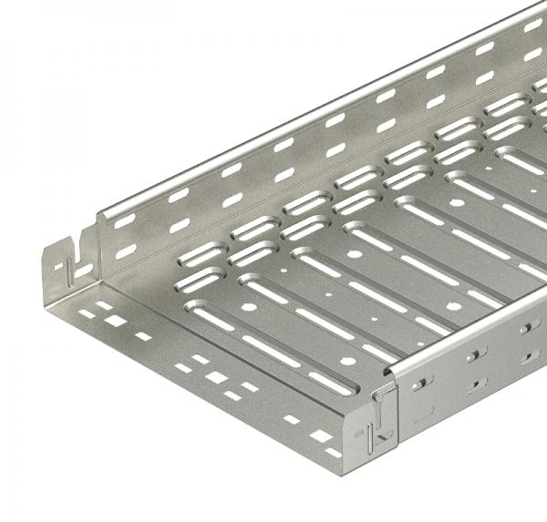 6047613 - OBO BETTERMANN Кабельный листовой лоток перфорированный 60x100x3050 (RKSM 610 VA4301).
