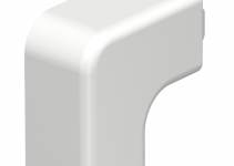 6161200 - OBO BETTERMANN Крышка плоского угла кабельного канала WDK 20x20 мм (ПВХ,кремовый) (WDK HF20020CW).