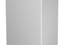 6193391 - OBO BETTERMANN Торцевая заглушка кабельного канала WDK 80x210 мм (ПВХ,белый) (WDK HE80210RW).