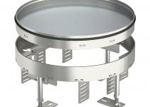 7409094 - OBO BETTERMANN Усиленная кассетная рамка RKR2 ном.размер 7 SL2  ø 275 мм (сталь) (RKR2 7SL2 V2 25).