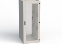 RSF-48-60/10A-WWFW0-0FF-H -  напольный шкаф Conteg, серверный, высота 48U, ширина 600мм, глубина 1000мм, задние двустворчатые двери, без днища, без боковых стенок