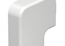 6158609 - OBO BETTERMANN Крышка плоского угла кабельного канала WDK 15x40 мм (ПВХ,серый) (WDK HF15040GR).