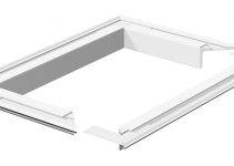 6290240 - OBO BETTERMANN Рамка электромонтажной колонны ISS (алюминий,белый) (WAG140110RW).