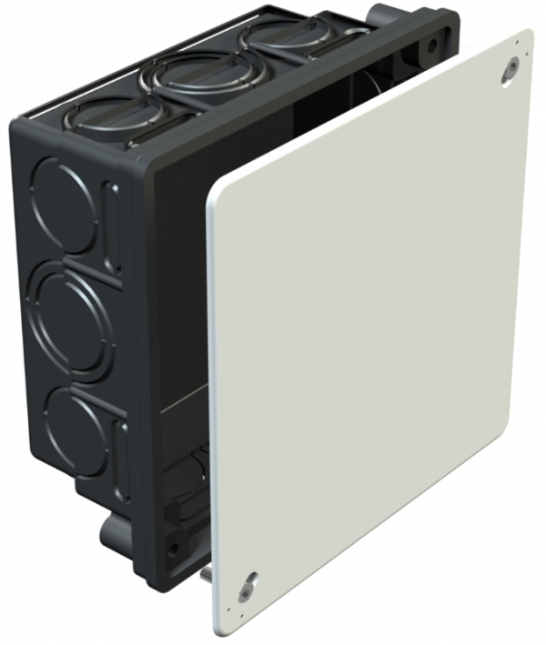 2003124 - OBO BETTERMANN Распределительная коробка для скрытого монтажа 150x150x65 (UV 150 K).