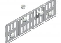 6067664 - OBO BETTERMANN Соединитель кабельного листового лотка /угловой 60x200 (RWVL 60 VA4571).