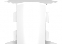 6175606 - OBO BETTERMANN Крышка внутреннего угла кабельного канала WDKH 60x150 мм (ABS-пластик,белый) (WDKH-I60150RW).