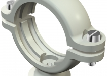 2130432 - OBO BETTERMANN Крепежная скоба (клипса) цокольная 40,5-43мм (2960 43 M6 LGR).