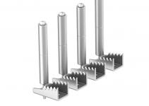 7404580 - OBO BETTERMANN Крепежный угол для лючков GES в полу высотой до 80 мм (сталь,1 шт.) (BW4 80).