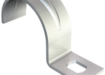 1003038 - OBO BETTERMANN Крепежная скоба (клипса) металл. однолапковая 3мм (604 3 G).
