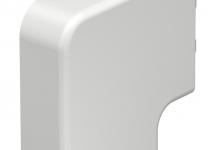 6154255 - OBO BETTERMANN Крышка плоского угла кабельного канала WDK 20x50 мм (ПВХ,белый) (WDK HF20050RW).
