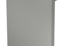 6156231 - OBO BETTERMANN Торцевая заглушка кабельного канала RK 127x175 мм (ПВХ,светло-серый) (RK-E1117LGR).