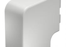 6161529 - OBO BETTERMANN Крышка плоского угла кабельного канала WDK 60x110 мм (ПВХ,кремовый) (WDK HF60110CW).
