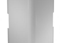 6182674 - OBO BETTERMANN Крышка внешнего угла кабельного канала WDK 60x230 мм (ПВХ,светло-серый) (WDK HA60230LGR).