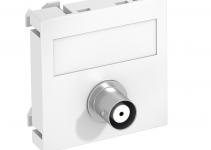6105018 - OBO BETTERMANN Мультимедийная рамка Video-BNC Modul45 (белый) (MTG-BC F RW1).