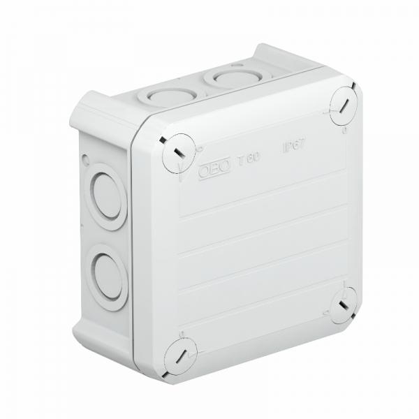 2007910 - OBO BETTERMANN Распределительная коробка 114x114x57 (T 60 M20).
