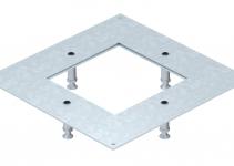 7400538 - OBO BETTERMANN Крышка усиленная монтажного основания UZD350-3/4 (h=130-170 мм,сталь) (DUG 350-3 4SL130).