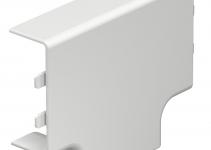 6154166 - OBO BETTERMANN Крышка T-образной секции кабельного канала WDK 20x50 мм (ПВХ,белый) (WDK HT20050RW).