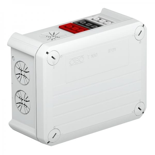 2007814 - OBO BETTERMANN Распределительная коробка 150x116x67 (T 100 WB 6S 3x2).