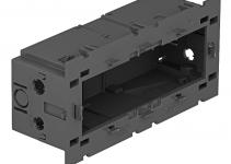 6288579 - OBO BETTERMANN Монтажная коробка тройная Modul45 71GD9-2 (полиамид,серый) (71GD9-2).