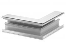 6115789 - OBO BETTERMANN Наружный угол дизайнерского канала (алюминий) (GAD AEL).